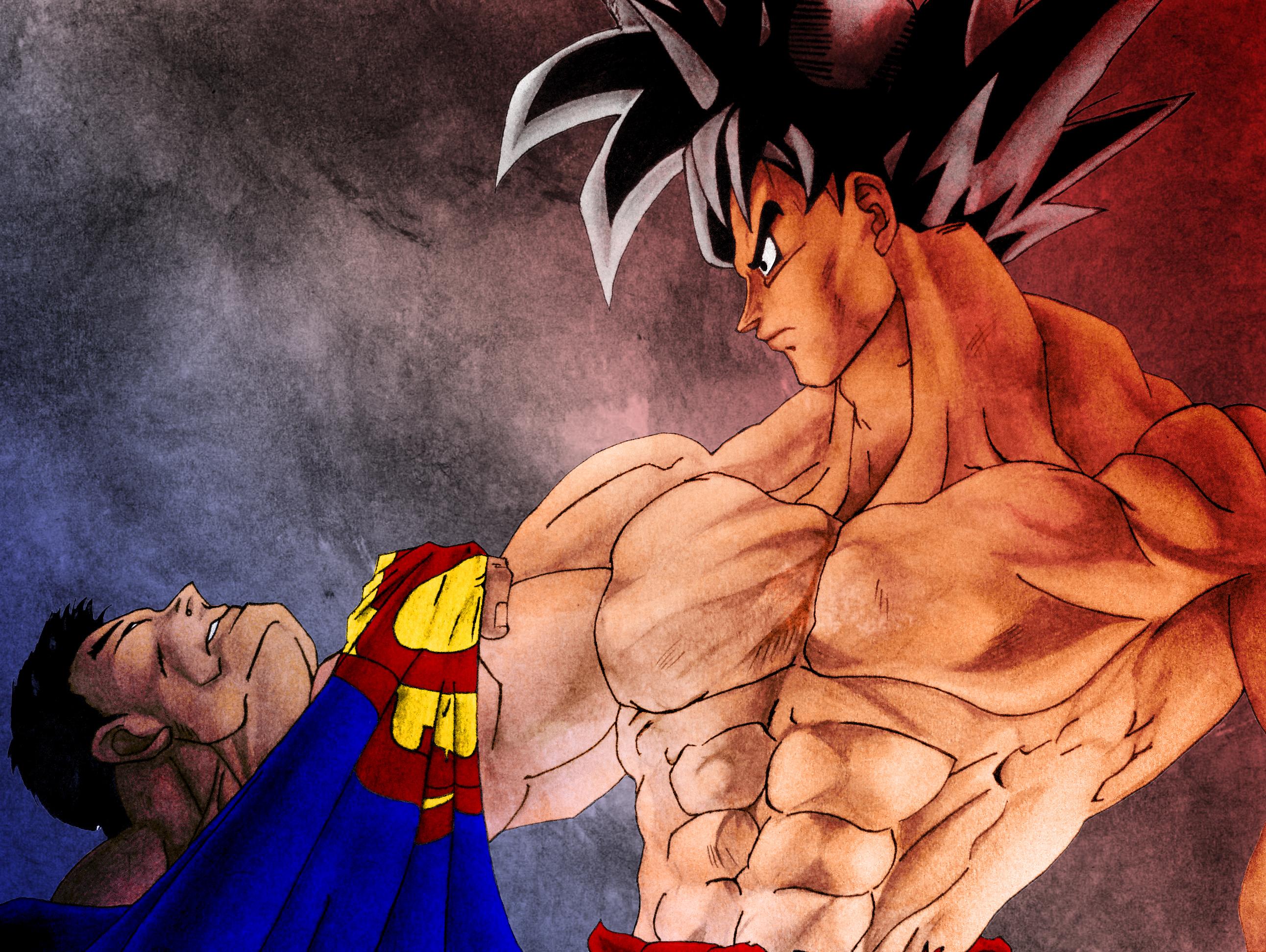 Goku Vs Superman Who Will Win