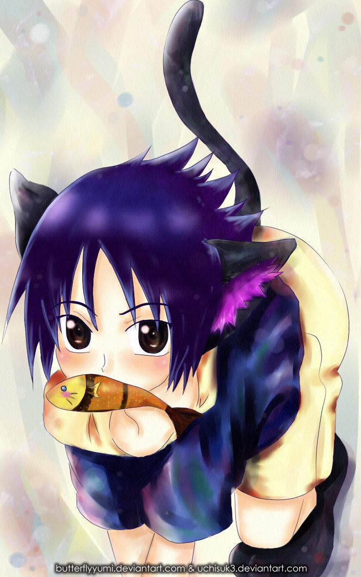 Sasuke Neko by Uchisuk3