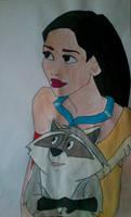 Pocahontas by Estelior
