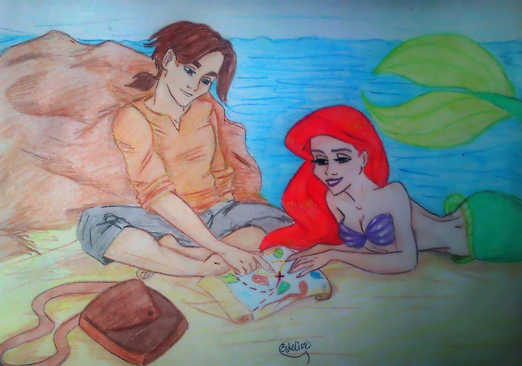 Treasure island by Estelior