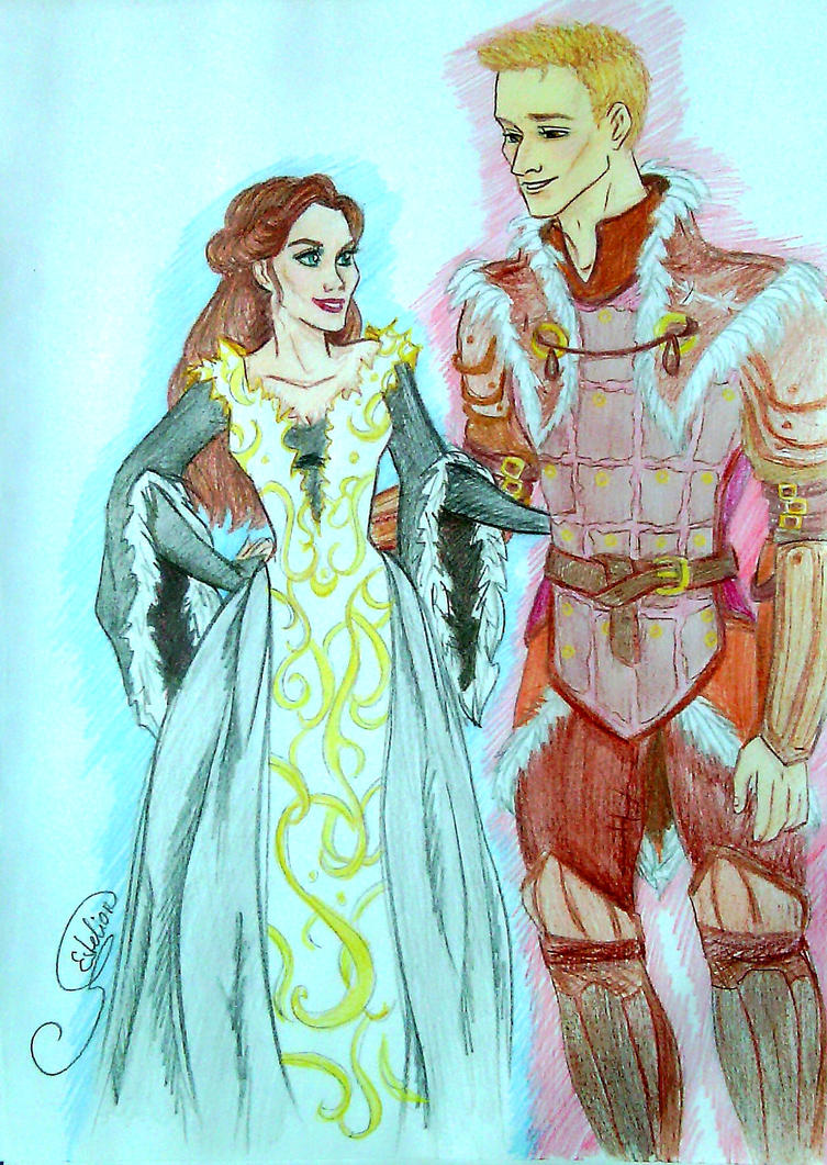 King and Queen of Ferelden by Estelior