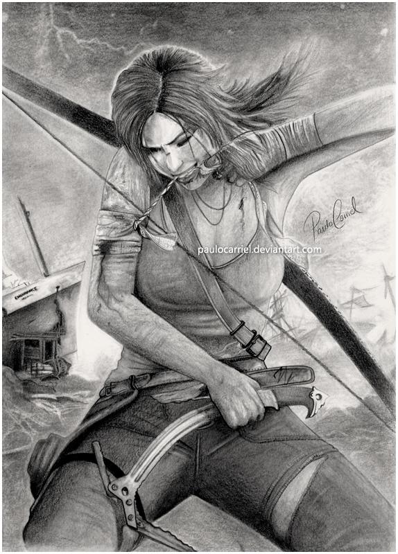 Lara Croft Tomb Raider By Paulocarriel On Deviantart