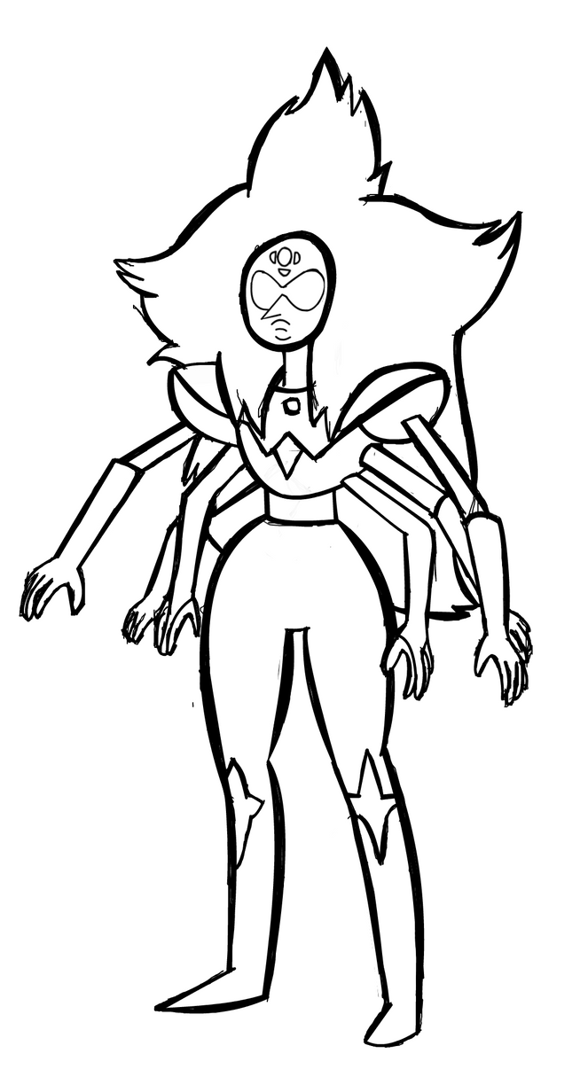 Alexandrite Steven Universe Character Coloring Pages ...