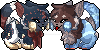 .: Icon for Lalaloraa and WarriorFia :. by Meshion