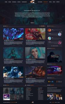League Of Legends [Team Website 1.4.1]