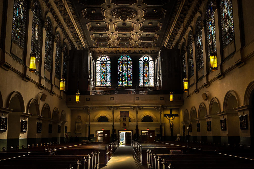 Church Glow by nigel3