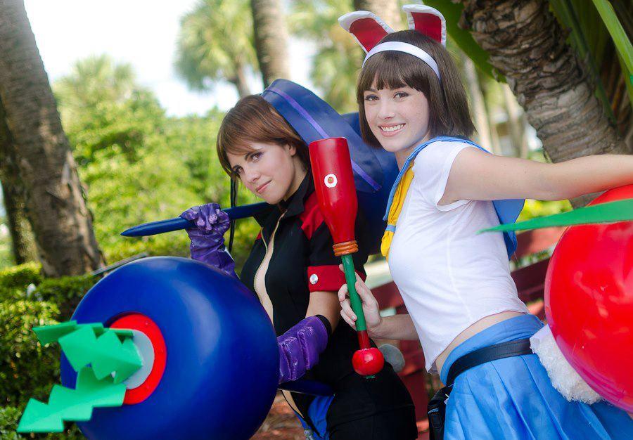 :GTHM: Ootsuki and Minazuki by AlouetteCosplay