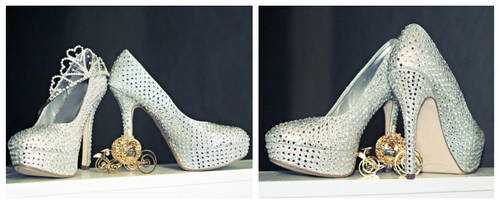 :Disney: Cinderella's Glass Slippers by AlouetteCosplay