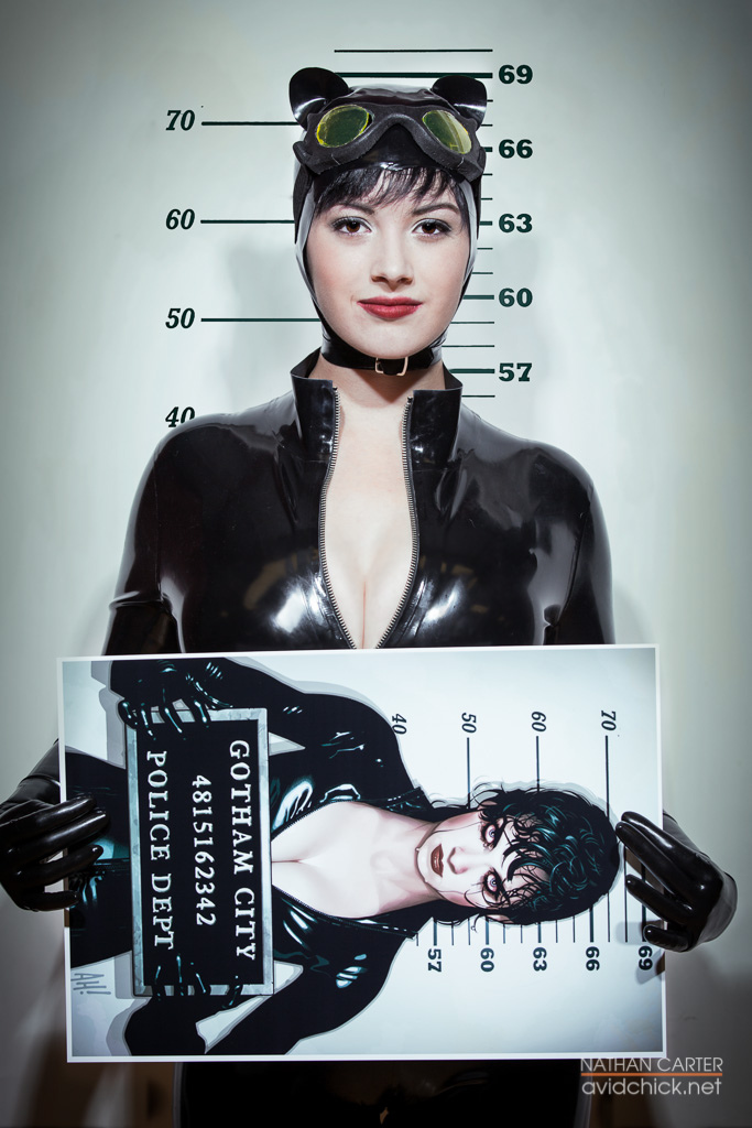 :DC: Mugshot by AlouetteCosplay