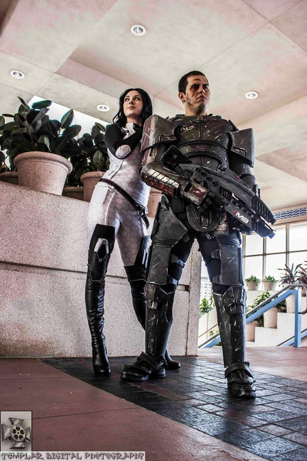 :Mass Effect: Unstoppable by AlouetteCosplay