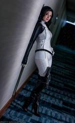 :Mass Effect: Cerberus Cheerleader by AlouetteCosplay