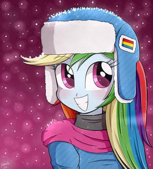 Cute Girl Rainbow Dash