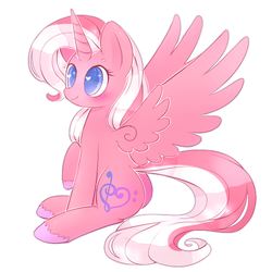 ~Cute Alicorn~ (COMMISSION) by Riouku