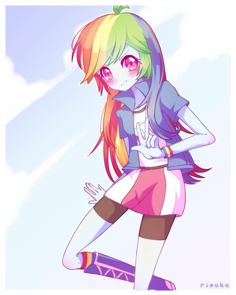 Rainbow Dash By Riouku ...