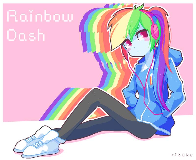 Rainbow Dash + SPEEDPA...