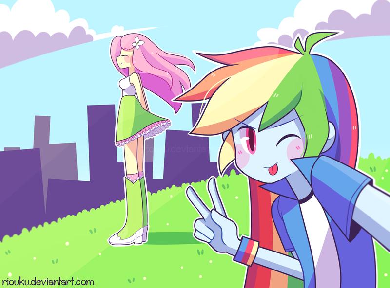 Selfie! + SPEEDPAINT by Riouku