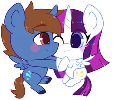 COM: Chibi Headlong Flight And Twily Star by Riouku