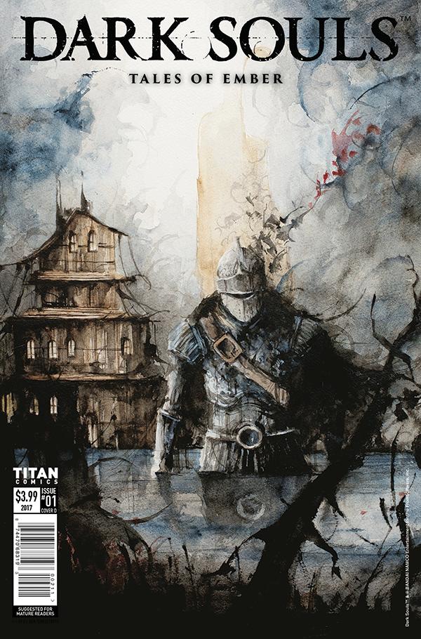 Dark Souls variant cover by Daniele-Serra