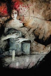 The witch by Daniele-Serra