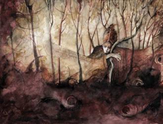 In the wood by Daniele-Serra