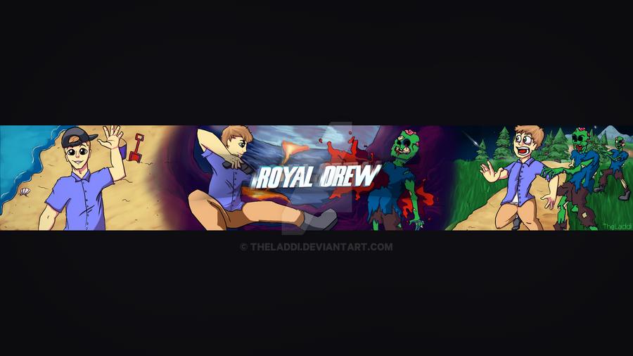 Royal Drew Channel Art by TheLaddi
