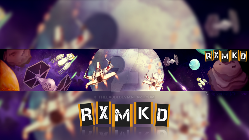 RXMKD Channel Art by TheLaddi