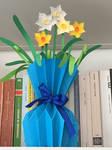 Vaso Blu con Narcisi by Geena93