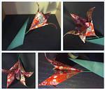 Paper Flowers: Japan Flower by Geena93