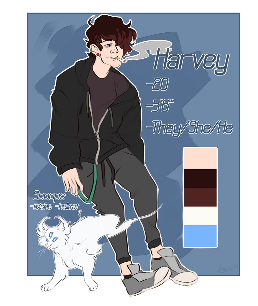 Harvey n Scoops Ref by Loxiv