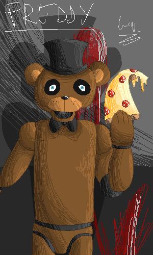 PIXEL ART - Freddy by darklugia99