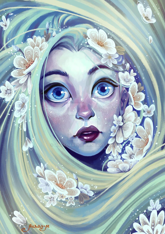 Snow Flower by Anna-MariyaG