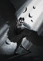 The Black Swan by Anna-MariyaG