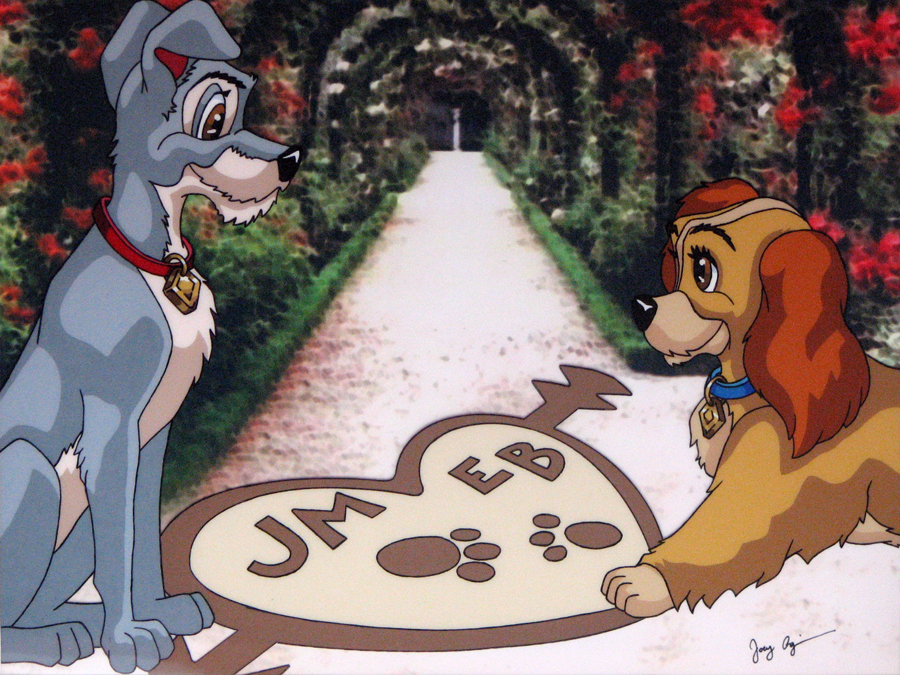 Lady And The Tramp By Fedex32 On Deviantart
