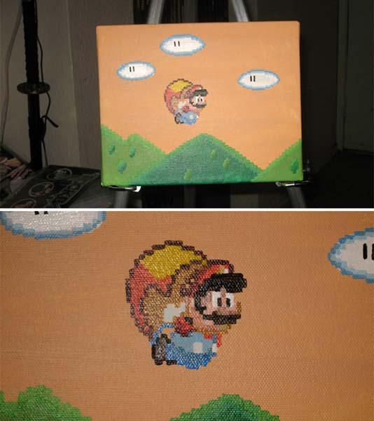 Pixel Art :: Mario in Flight by DodgeBall on DeviantArt