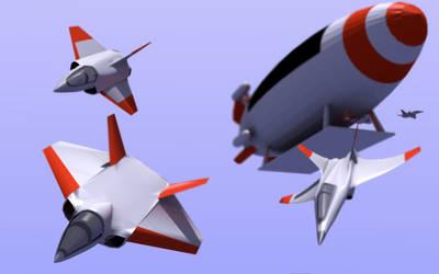 Aerial carrier: daylight by Nestor-K-YA-T