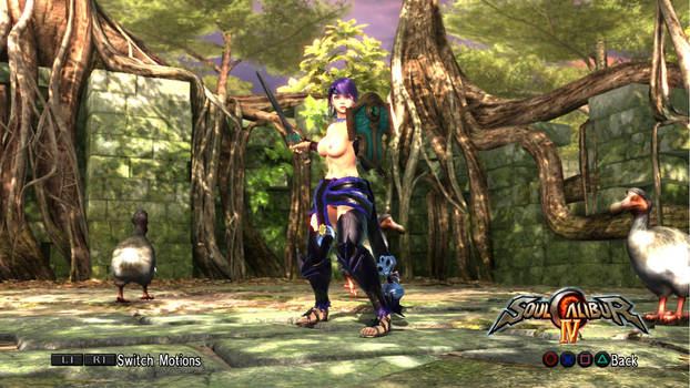 Miki Saegusa Monsterverse in Soul Calibur IV (2)