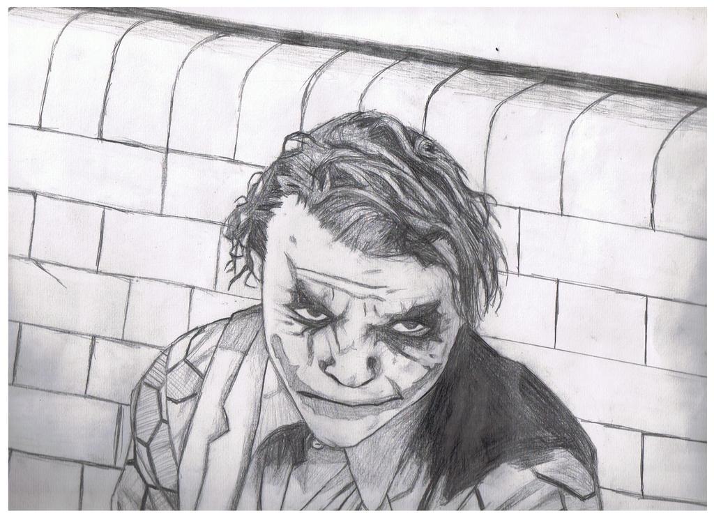 joker face drawings traffic club