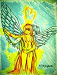 Icarus and Sun--Picolo-kun by CuzMyDogSaidSo