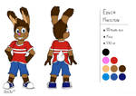 Edwin Habilton Reference   Rough #16 (Colors) by mdsd95