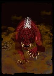 Odogaron by DragonoidKaiju