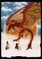 Rathalos by DragonoidKaiju