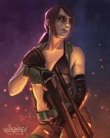 Quiet Sniper by smojojo