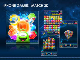 Iphone Game : Match 3d by matalangit
