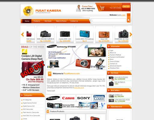 Pusat Kamera Website
