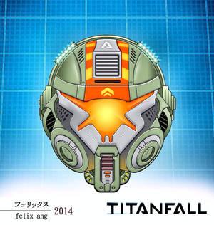 TITANFALL : Pilot Head