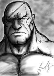 Sagat Quick Sketch