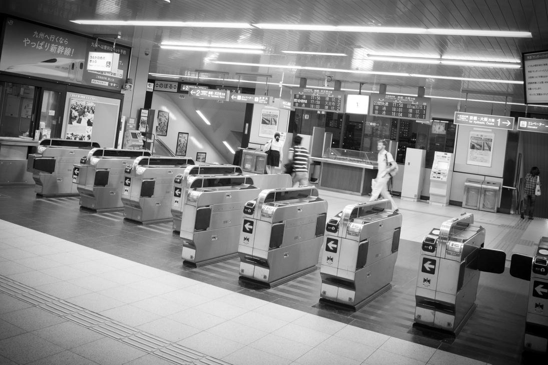 Railways of Osaka by Shadow-Pix