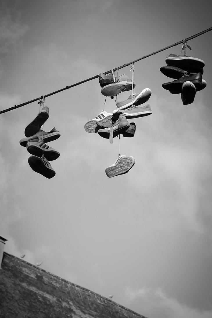 Flying shoes by Shadow-Pix