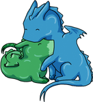 Green and Blue Love