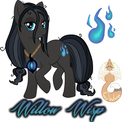 Willow Wisp by Marvealle